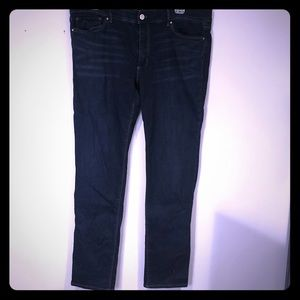 White House Black Market dark jeans size 12slim.